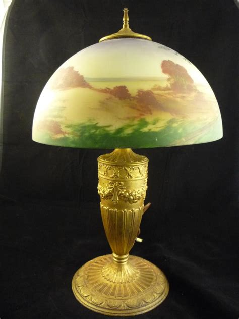 hand painted l shades hand painted glass shade l