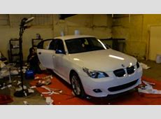 BMW E60 3M Gloss White Wrap YouTube