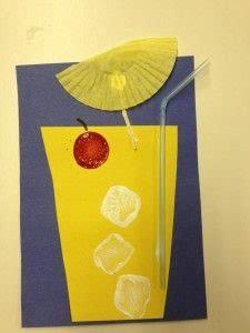 lemonade craft idea  kids crafts  worksheets