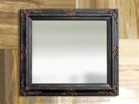 Black Bathroom Mirror For Sale Baroque Decorative Ornate