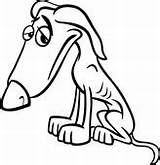 Dog Poor Cartoon Coloring Emaciated Clip Clipart Sad Vector Homeless Illustration Royalty Drawing Fotosearch Vectors Gograph Eps Drawings Skinny Pet sketch template