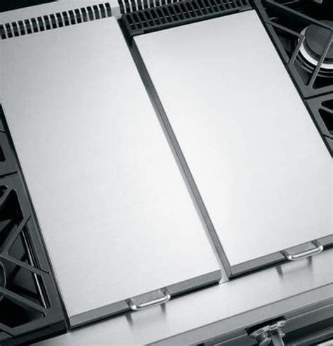 monogram zgplgrss   pro style  gas range   sealed dual flame stacked burners