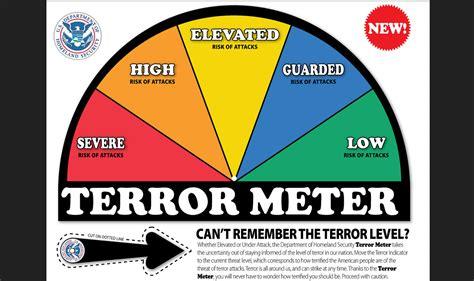 alert colors dhs wants to bring back asinine color coded terror alerts