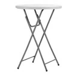 Folding Banquet Chairs For Sale by Maxchief 32 Quot Round Bar Height Event Table White Sam S Club