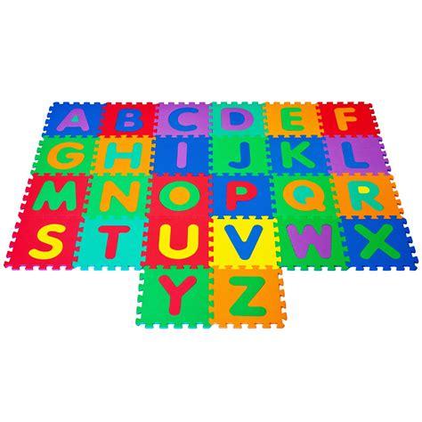 Trademark Foam Floor Alphabet Puzzles Mat  Kids