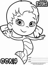 Guppies Bubble Coloring Pages Oona Nickelodeon Colouring Guppy Birthday Google Outline Sheets Printable Molly Characters Bubbles Easy Coloringpagesfortoddlers Character Disney sketch template