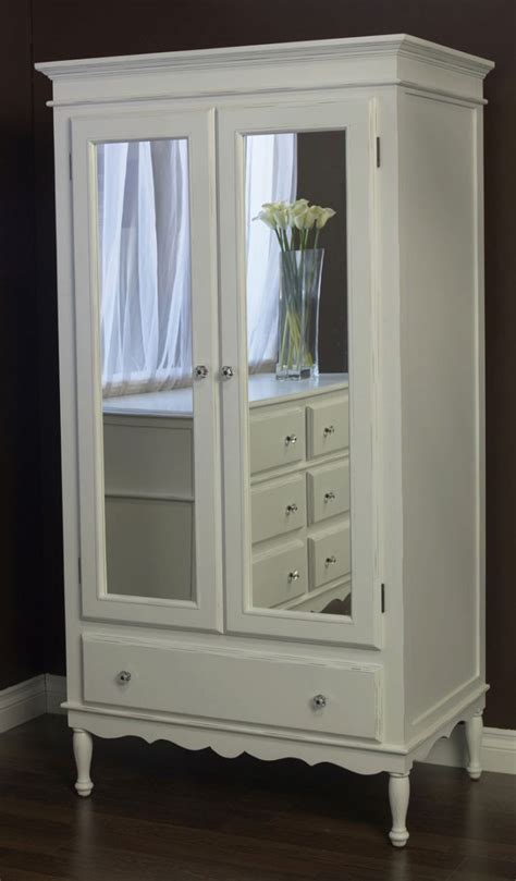 white armoire dresser bedroom unique mirrored armoire for your bedroom decor
