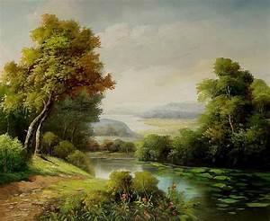Landscape - Thomas Moran | Painting | Pinterest | Popular ...