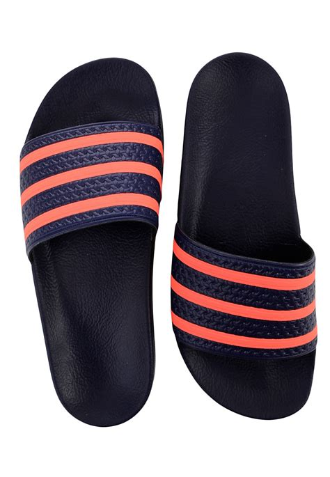 adidas adilette night skyinfrared sandals impericoncom worldwide
