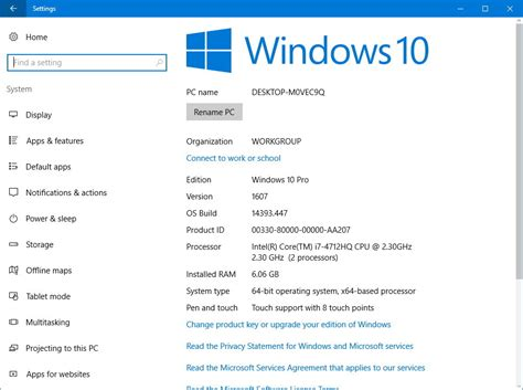 How to check your computer's full specifications on