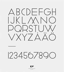 8 clean modern fonts images clean modern fonts free With mid century lettering