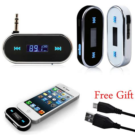 Car Player Wireless Radio Transmitter Usb Charger