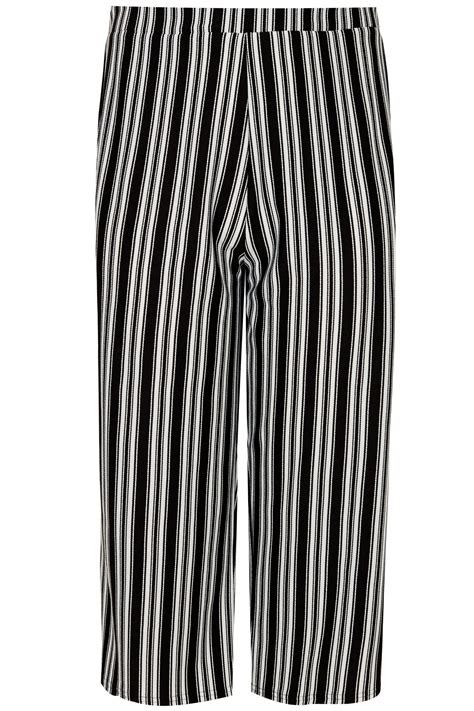 c add to container with templates limited collection black white striped culottes plus