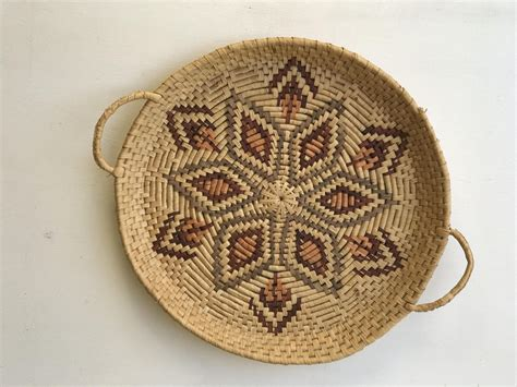 I found a way to turn jute charger placemats into diy decorative baskets. Woven Earth Tone Wicker Wall Basket   Neutral Colors   Gallery Basket Wall Decor   BOHO Bohemian ...