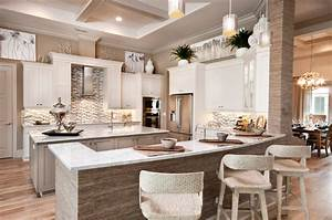La salle model in twin eagles naples fl for Best brand of paint for kitchen cabinets with mirrored wall art decor