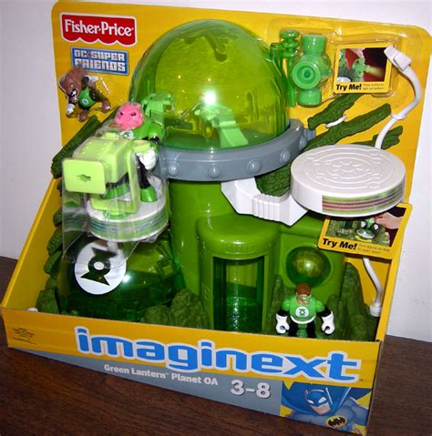 green lantern planet oa playset imaginext dc friends