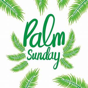 Palm Sunday Background - Download Free Vector Art, Stock ...