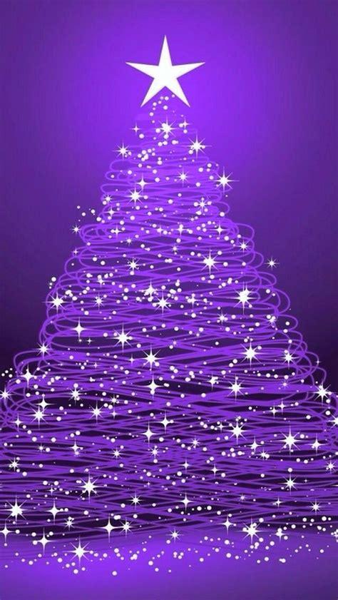 christmas tree christmas purple purple christmas