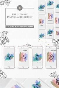 Template Create Instagram Highlight Iconset Template 73925