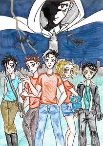 Luke/Kronos, Thalia Grace, Grover Underwood, Percy Jackson ...
