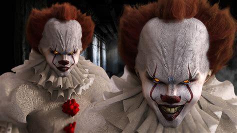 wallpaper  bill skarsgard scary clown  movies