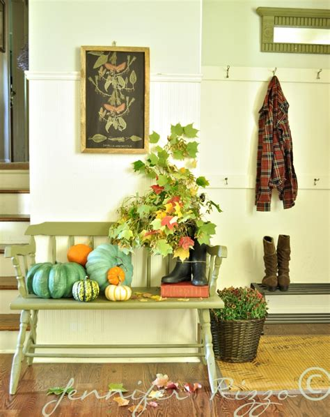 fall entryway decor jennifer rizzo front entry for fall love using things right from nature culture scribe