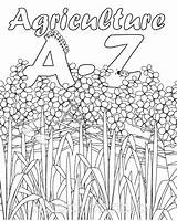 Agriculture Coloring Printable Activities Ffa Ag Farm Colouring Education Club Classroom Worksheets Excellent Any Science Alphabet Activity Template Animal Agric sketch template