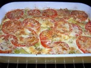 Gratin De Courgette Pomme De Terre Et Tomate gratin de pomme de terre courgette tomate ch 232 vre les