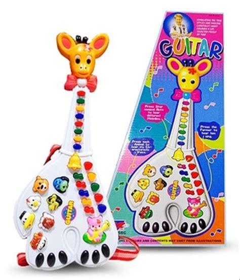 jual terbaru mainan anak gitar jerapah gitar animal mainan