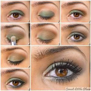 Maquillage Pour Yeux Marron : maquillage yeux marron kaki ~ Carolinahurricanesstore.com Idées de Décoration