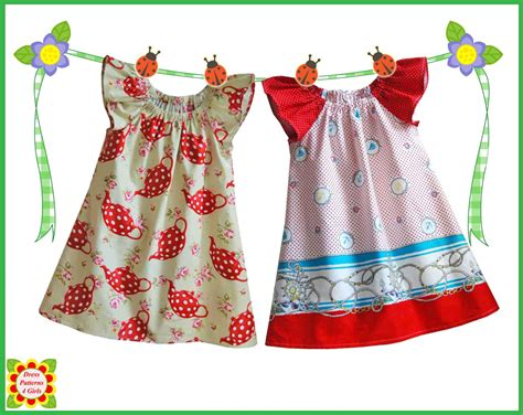 Cecilia Sewing Pattern For Children + Free Mother-daughter