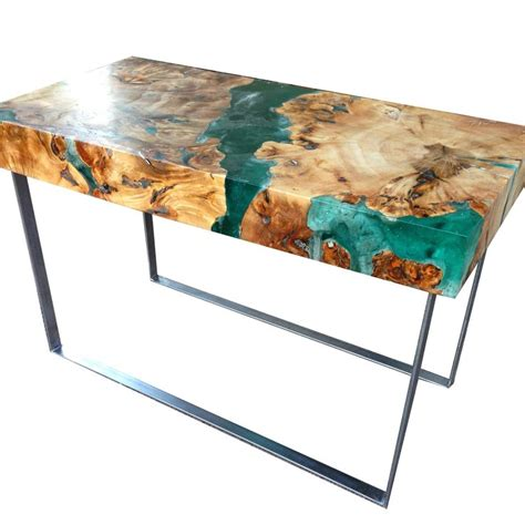 how to make a resin table top the 25 best ideas about resin furniture on pinterest