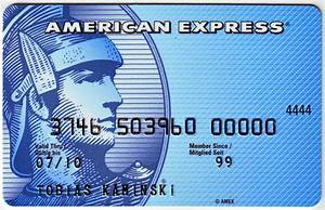 American Express Blue Card | The Blue Card. The real one ...