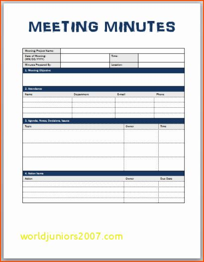 Stand Up Meeting Minutes Template by Top Result Luxury Stand Up Meeting Minutes Template Pic