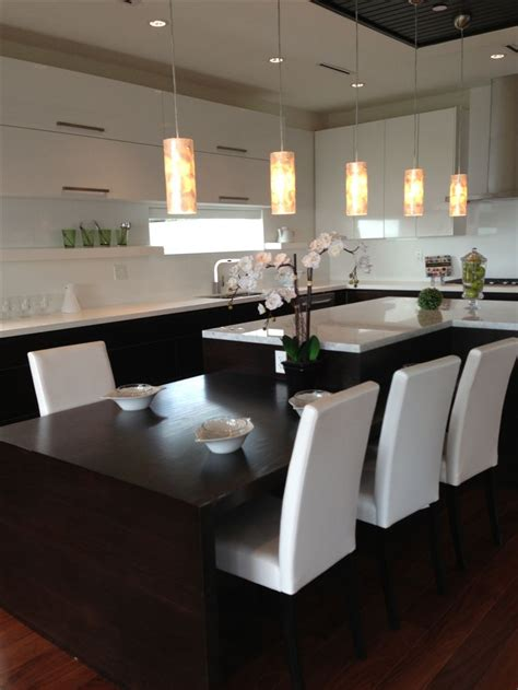 kitchen island with table extension 122 best images about kitchen island table combinations on