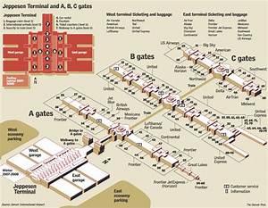 Denver Airport Map