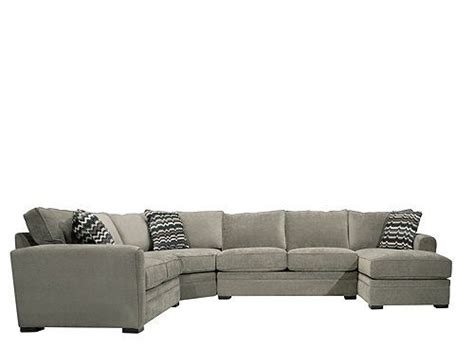 raymour and flanigan grey sectional sofa artemis ii 4 pc microfiber sectional sofa sectional