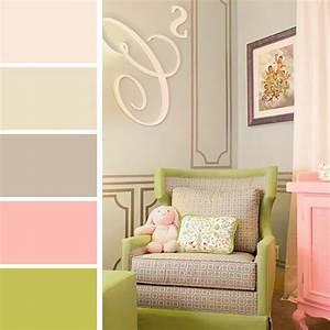Des Couleurs Pastel : palettes de couleurs afin de choisir les bonnes nuances pour notre int rieur design feria ~ Voncanada.com Idées de Décoration