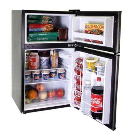 2 door mini fridge hnde03vs haier 3 3 cu ft 2 door refrigerator and freezer