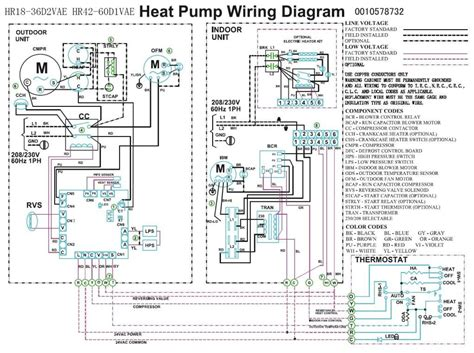 Wiring Diagram For Electric Heat by Trane Heat Wiring Diagram Heat Compressor Fan