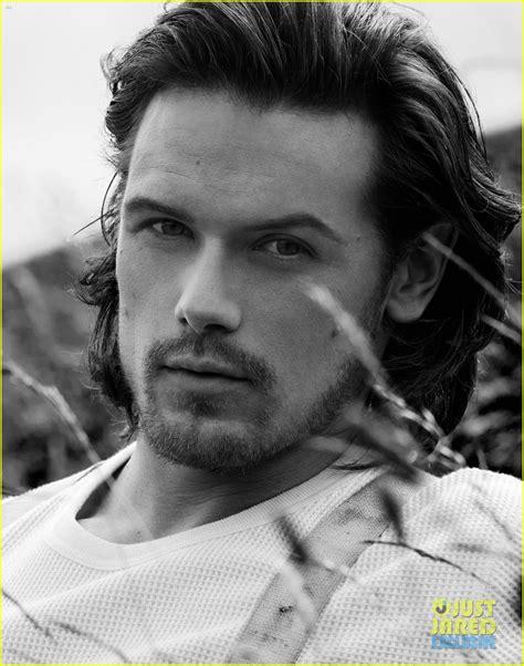 Just Jared Shines The Spotlight On Sam Heughan Outlander