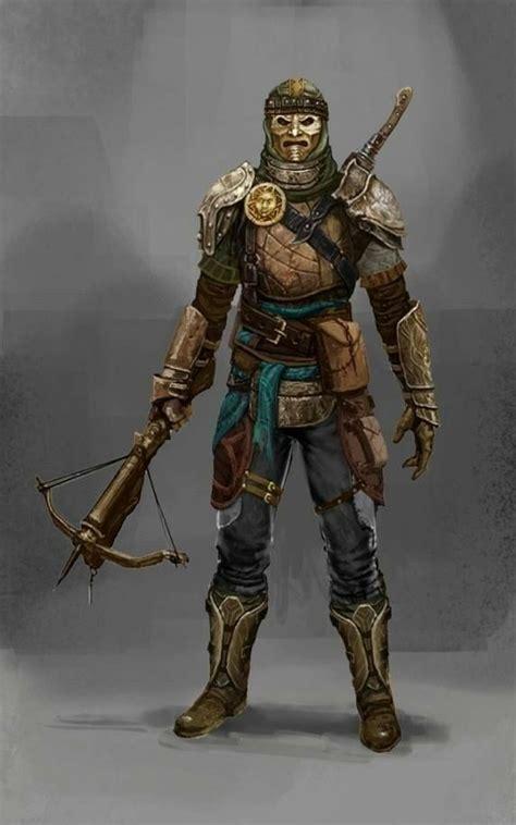 male archer crossbow sword fighter  plate armor pathfinder pfrpg dnd dd  fantasy