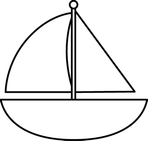 boat clipart black and white sailboat clip sailboat images