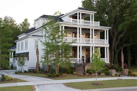 style home designs unique and historic charleston style house plans from