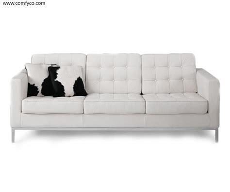 sofa extraordinary white leather 2017 design white