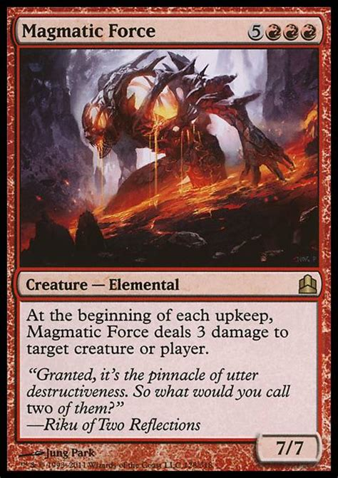 magmatic mtg card