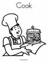 Coloring Cook Built California Usa sketch template