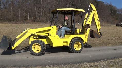 predator   tractor  loader  backhoe youtube