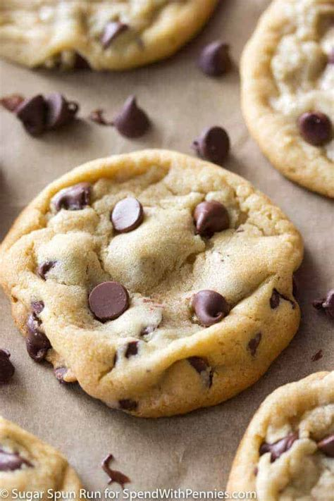 perfect chocolate chip cookies homemade spend  pennies