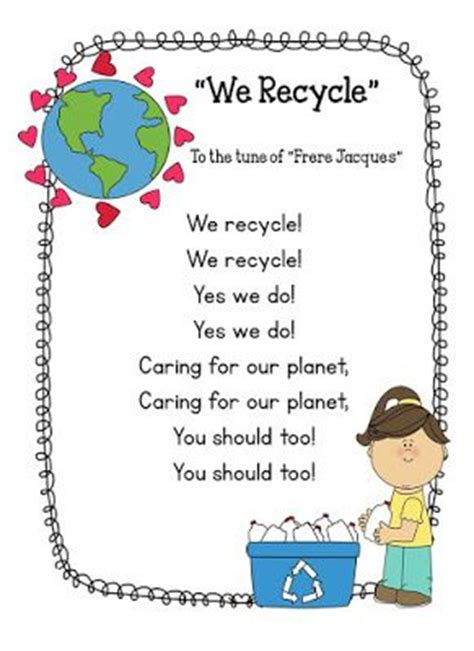 recycling lesson plans for preschool 17 best images about preschool earth day recycling april 584